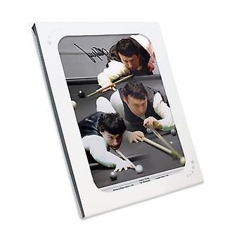 جيمي وايت وقعت السنوكر الصورة : الزوبعة. في صندوق الهدايا