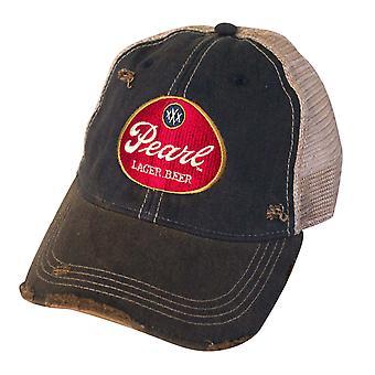 Pearl Lager Beer Vintage Mesh Hat