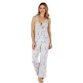 Slenderella GL4713 ženy ' s Gaspe květinové krajky Pyjama Set
