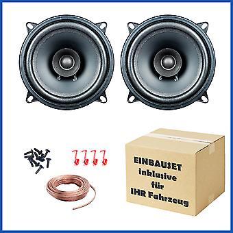 1 paire PG EVO audio j'ai 13,2, haut-parleurs à double cône 13 cm s'adapte, Chrysler, Citroen, Dacia, Ford, Opel, Peugeot et Renault