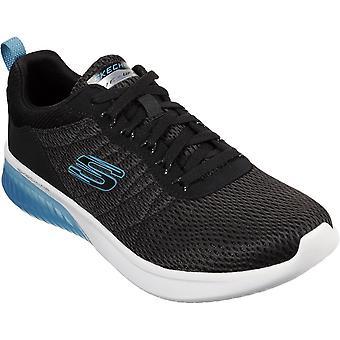 Skechers Mens Skech Air Ultra Flex Orburn Trainers Shoes