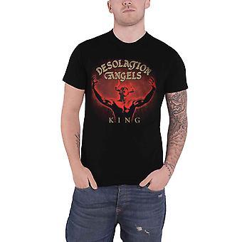 Desolation Angels T Shirt King Band Logo new Official Mens Black
