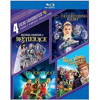 4 film favoriter: familj Fantasy Collection [BLU-RAY] USA import
