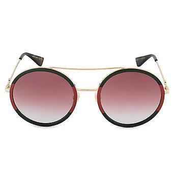 Gucci Runde Sonnenbrille GG0061S 010 56