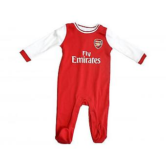 Arsenal FC 2019/20 Unsex Baby Toddler Sleepsuit Arsenal FC 2019/20 Unisex Baby Toddler Sleepsuit