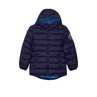 Moose Knuckles Junior Blue Puffer Jacket