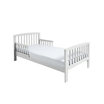 Klassieke houten peuter bed wit