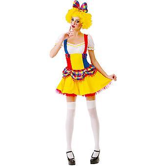 Cutie Clown Adult Costume, L