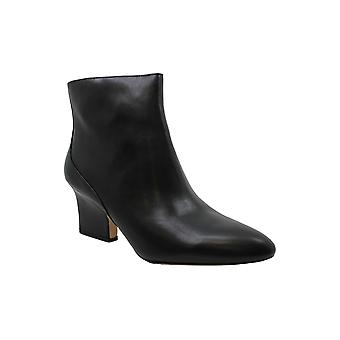 Enzo Angiolini Womens Cadyn Leather Pointed Toe Ankle Fashion Boots