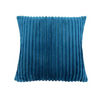 """18"""" x 18"""" Blue, Ultra Soft Ribbed Style - Pillow"""
