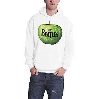 Das Beatles Herren Hoodie White Band-Logo auf Apple-Design Beamter