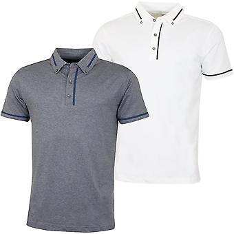 Bobby Jones Mens Rule 18 Tech Chapman Wicking Golf Polo Shirt