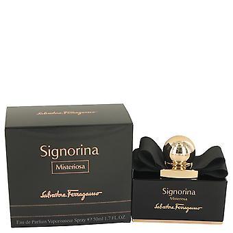 Signorina Misteriosa Eau De Parfum Spray By Salvatore Ferragamo   536271 50 ml