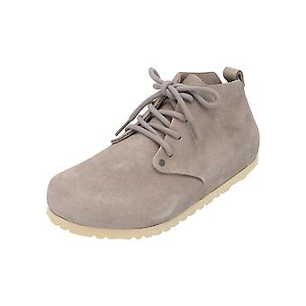 Birkenstock Dundee VL Taupe Unisex Lace-up Shoes Grey Business Shoes
