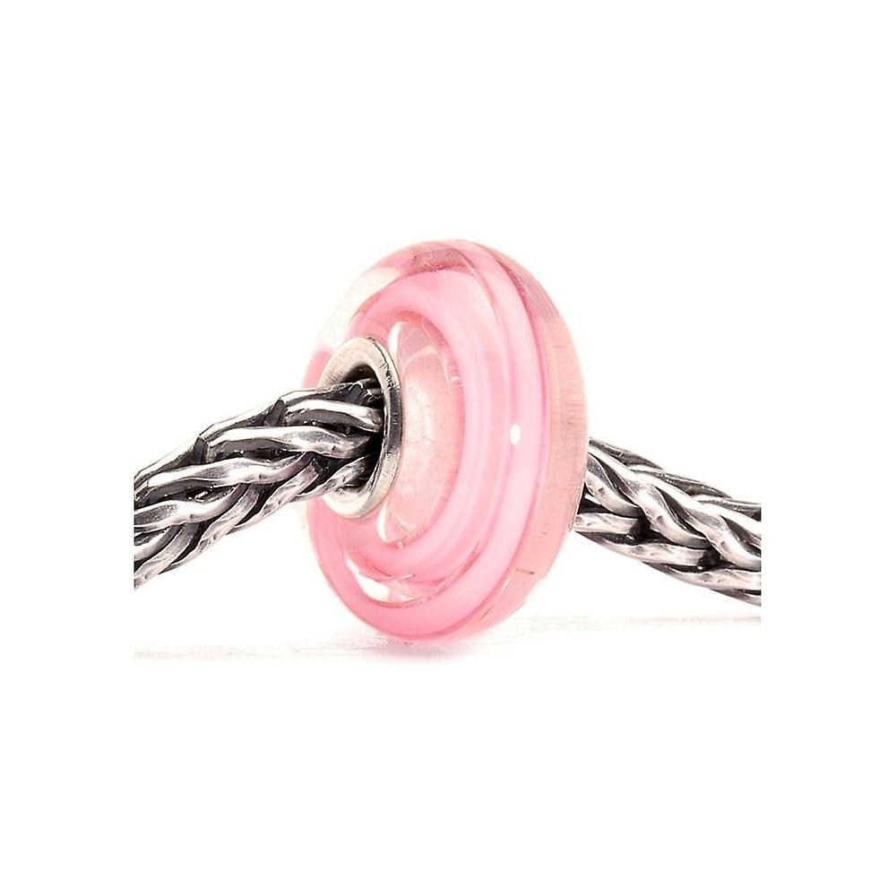 Trollbeads Rose Ribbon Glass Bead 61198