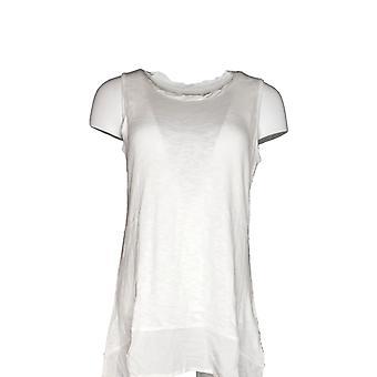 LOGOTIPO por Lori Goldstein Women's Sweater Knit Tank White A274640