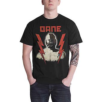 Official Bane T Shirt Batman The Dark Knight Logo new DC Comics Mens Black
