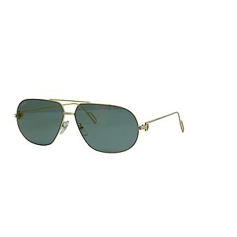 Cartier PREMIÈRE DE CARTIER CT0111S 001 Gold/Grey Gradient Sunglasses