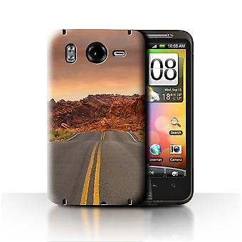 STUFF4 Case/Cover for HTC Desire HD/G10/Road/Highway/State of Nevada