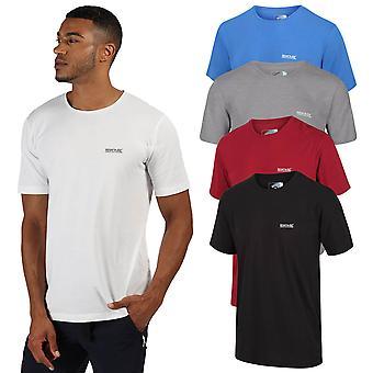 Regatta Mens Tait Lichtgewicht ademend katoenen korte mouwen T-shirt