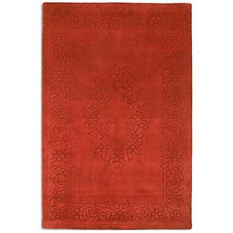 Royale Rugs - Traditional Indian Wool In Rust
