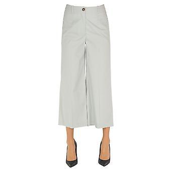 Semi-couture Ezgl426004 Women's Grey Cotton Pants