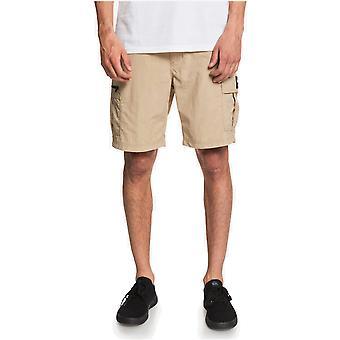 Quiksilver Skipper Cargo Shorts in Incense