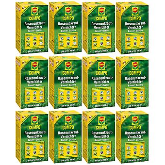 Sparset: 12 x COMPO Lawn Weed Killer Banvel® Quattro, 400 ml