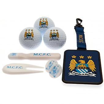 Manchester City FC Premium Golf Gift Set (8 Pieces)