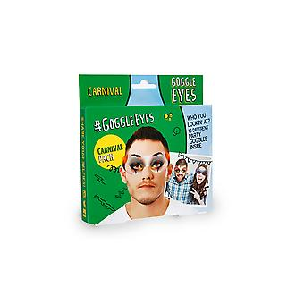 Goggle Eyes Carnival Mask (Pack of 10)