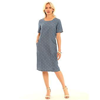 POMODORO Pomodoro Blue Dress 62014