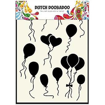 Dutch Doobadoo Dutch Mask Art stencil Balloons normal-heart A5 470.715.108