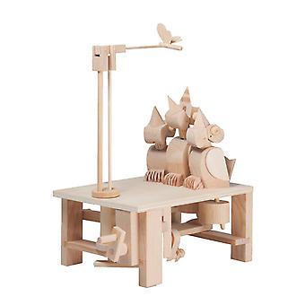 تيمبيركيتس مرح الفراخ-نموذج خشبية تتحرك الجمعية الذاتي البناء هدية