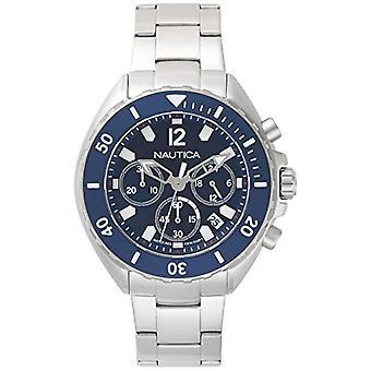 Nautica Analogueico Watch quartz men with stainless steel strap NAPNWP009