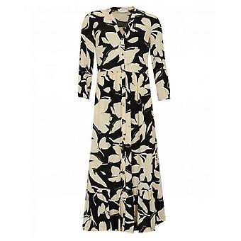 Calvin Klein Womenswear Bold Floral Maxi Dress