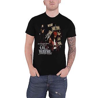 Lil Wayne T Shirt Got Money Hommage Logo neue offizielle Herren Schwarz
