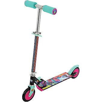 Dreamworks trolls world tour folding in line scooter mv sports ages 5 years+
