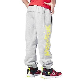 Children�s Sports Shorts Reebok B ES BL Pant Grey Yellow/L