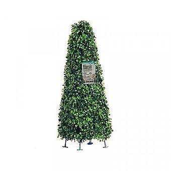 Topiary Obelisk Artificial Outdoor Plant Garden Decoration - (60cm)