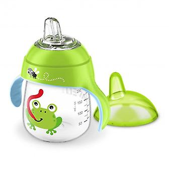 Avent Leak-free Frog Cup 260 ml Green