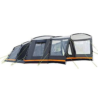 OLPRO Endeavour 7 Person Tent Ripstop Family Camping Outdoors Steel Frame
