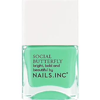 Nails inc Social Butterfly Nail Polish Collection - Winging It 14ml