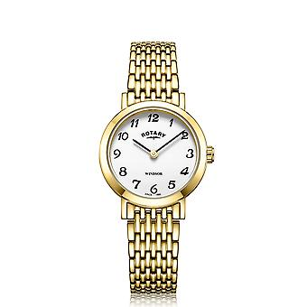 Rotary LB05303-18 Women's' Windsor Wristwatch