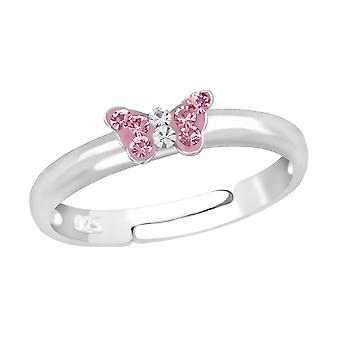 Бабочка - 925 стерлингового серебра кольцо - W23474x