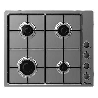 Gas Hob Candy CHW6LBX 60 cm Natural gas (4 Stoves)