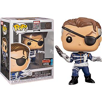 Marvel Nick Fury 1. Auftritt 80. An. NYCC '19 US Ex Pop!
