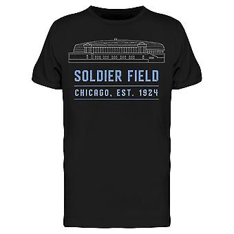 Soldier Field Chicago Est 1924 Men's T-shirt