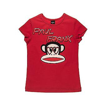 Alouette Girls' Paul Frank Shirt With Julius And Strass Print
