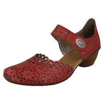 Panie Rieker Punched Szczegółowe buty letnie 43753