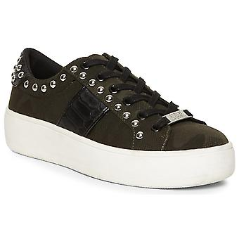 Steve Madden Womens Belle Lace Up Trainer